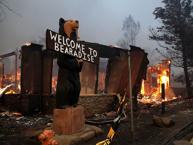 Camp Fire (Photo by Justin Sullivan/Getty Images)
