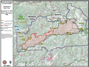 Bear Fire Map
