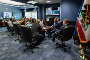 Governor Newsom and the Cal OES Covid19 Task Force