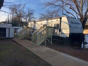 FEMA Direct Housing Trailer in Butte