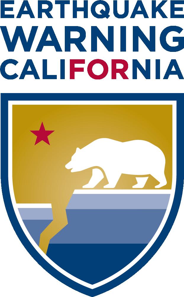 Earthquake Warning For California Logo
